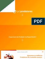 Apresentação PD Produtores