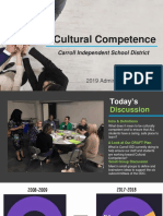 2019 Admin Retreat Cultural Competence