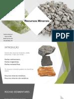 Trabalho de Grupo Recursos Minerais 1 1 1 1