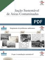 Remediação Sustentável de Locais Contaminados