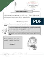 Aprobado Guía de Lenguaje Verbos(Retroalimentar)