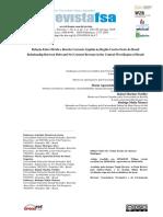 Relação entre dívida e receita corrente líquida na região Centro-Oeste do Brasil - Gabriela