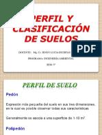 Clase IV. Clasificación de suelos 2020-2