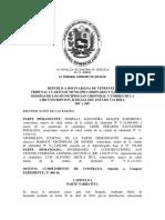 MODELO DE SENTENCIA INTERLOCUTORIA