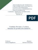 Sistema de produccion animal II Unidades Bovina y Lechera