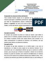 Fines Del Derecho