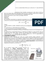 INFORME COEFICIENTE DE CONDUCTIVIDAD TERMICA re