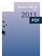 Deutsch ABI LK, Lernzettel, Jan Oltmer