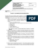 Taller 3 La Documentación Organizacional