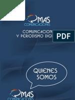 Presentación de MAS Comunicaciones