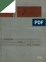 Canções Para Voz e Piano - Alberto Nepomuceno