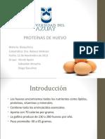 142092146 Proteinas Huevo de Compu Ppt