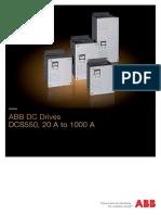 3ADW000378R0101 DCS550 Catalog e A