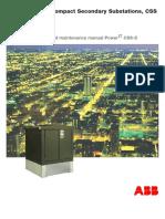 PowerIT CSS-S Inst_Maintenance Manual GB 1VNA000009Z0113