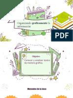 Organizar gráficamente la información