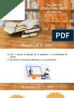 CLASE 1 DE LITERATURA