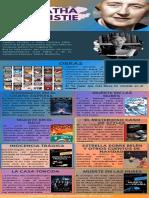 Infografia de Agatha Christie y Valeria Luiselli