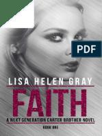 Faith - Livro 01 - Carter Next Generation - Lisa Helen Gray