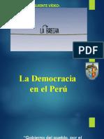 LA DEMOCRACIA EN EL PERÚ - DPCC SFA