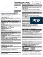 Defend Gen Purpose Cleaner MSDS 1-1-2011