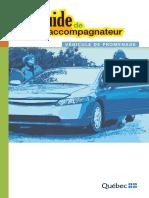Guide Accompagnateur Vehicule Promenade