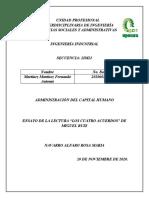 Los cuatro acuerdos