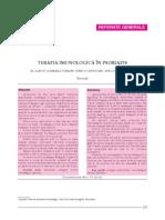 Terapia imunologica psoriazis