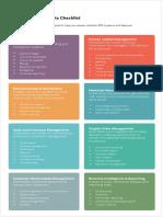 ERP Requirements Checklist