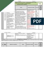 planificação por tópicos 3.º ano - 2.º período