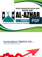 Ramadhan Move on 1442 H