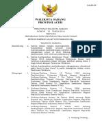 PERWAL_NO_35_TAHUN_2018 Perubahan Tarif Restribusi Pelayanan Pasar