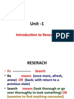 Chap 1 - Updated Research Meaning