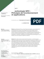 La technologie NFC - Principes de fonctionnement et applications