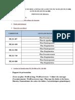 Liste Des Plans Manquants de LA RN17