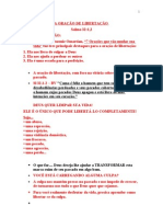 A ORAÇÃO DE LIBERTAÇÃO ### 02-04-2008