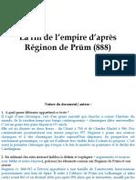 Fin de l'empire d'après Réginon de Prüm [corr.]