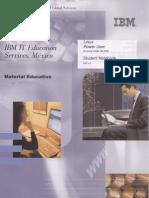 IBM IT Educacion Services Linux Power User PDF