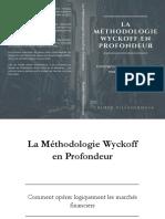 Rubén Villahermosa - La Méthodologie Wyckoff en profondeur (1)