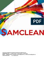 CATALOGO SAMCLEAN