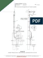 Medição Trifásica em Muro - Saída Subterrânea - Demanda de 38 kVA à 75 kVA