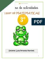 TALLER  MEMATICAS TERCERO P