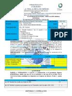 2da Actividad Evaluada de Educacion Fisica Para 2o y 3o II Lapso (01)