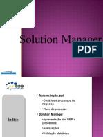 Apresentação Solution Manager