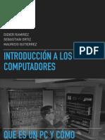 introduccion a los computadores