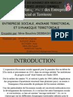 Ancrage Territorial Et Dynamique Territoriale