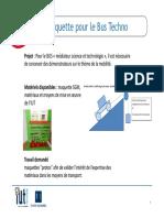Activité de Synthèse 2020-2021 Présentation Projets