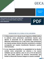 2021 Prensa ODSA Mendoza Informe Avance Deuda Social