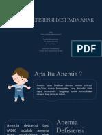 Anemia Defisiensi Besi Pada Anak Pkmrs