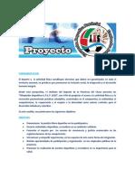 Proyecto Olimpiadas Deportivas 2021