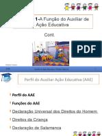 Função Do Auxiliar Da Ação Educativa